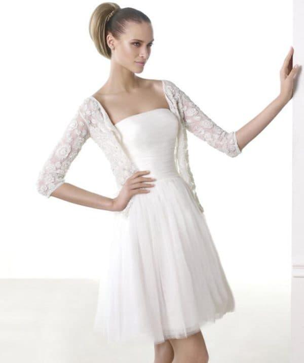 платье из коллекции Modern Bride Pronovias