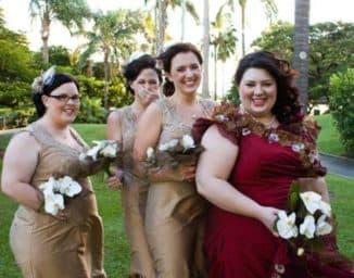 Платье на свадьбу дочери для пышной дамы