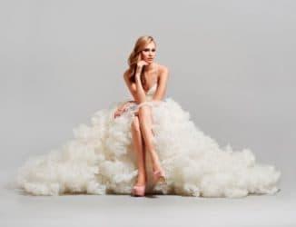 Платье-трансформер с накладной юбкой
