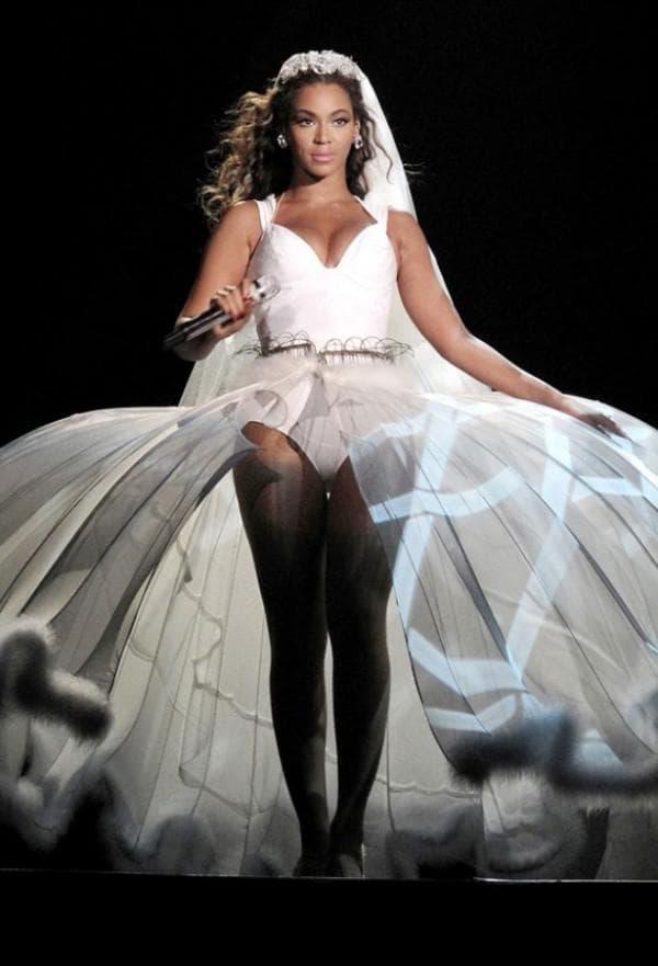 Свадебное платье Бейонсе