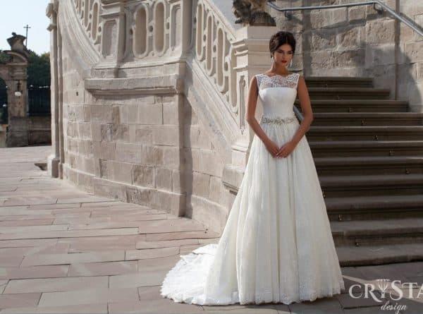 Свадеьное платье из новой коллекции Crystal design