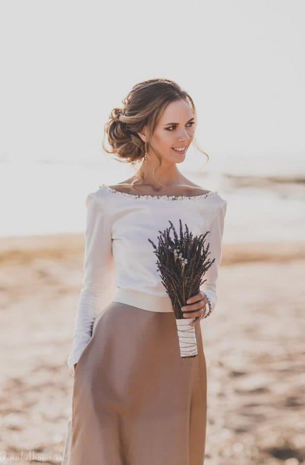 Платье простого кроя в стиле прованс (фото)