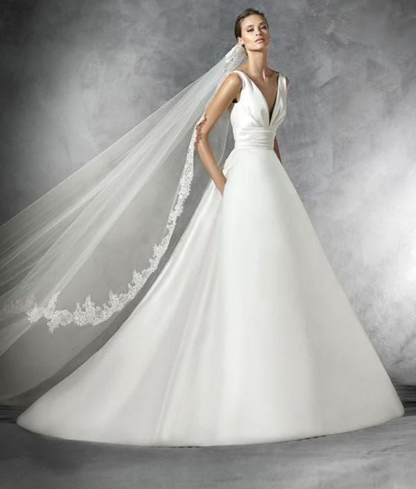 Модель Plaza для невесты