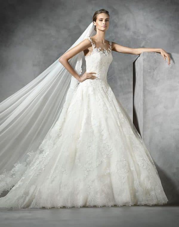 Модель свадебного платья от Pronovias