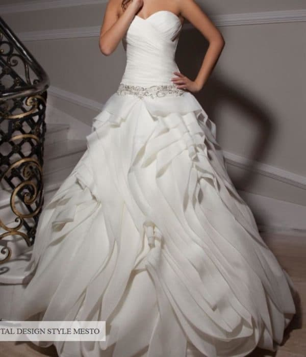 Платье для невесты Crystal design