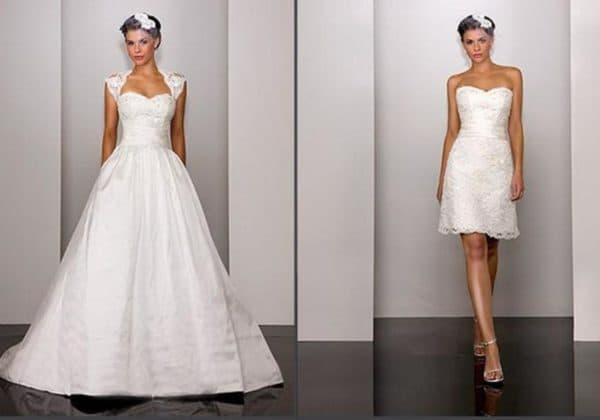 Платье на свадьбу трансформер