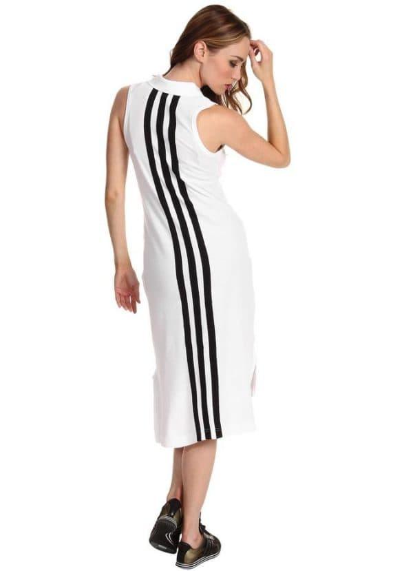 длинное спортивное платье Адидас