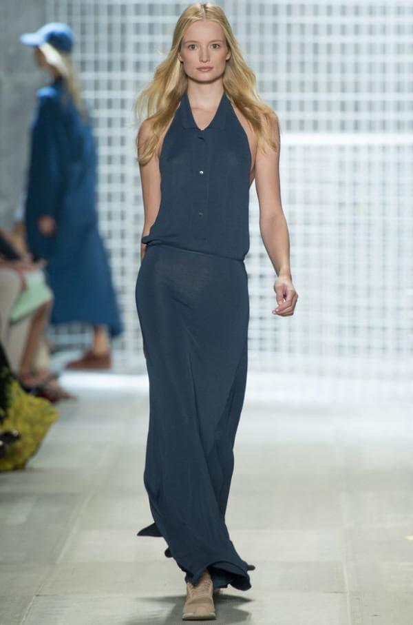длинное спортивное платье Lacoste