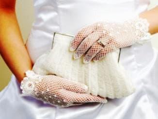 аксессуары к свадебному платью с баской