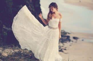 льняные платья бохо