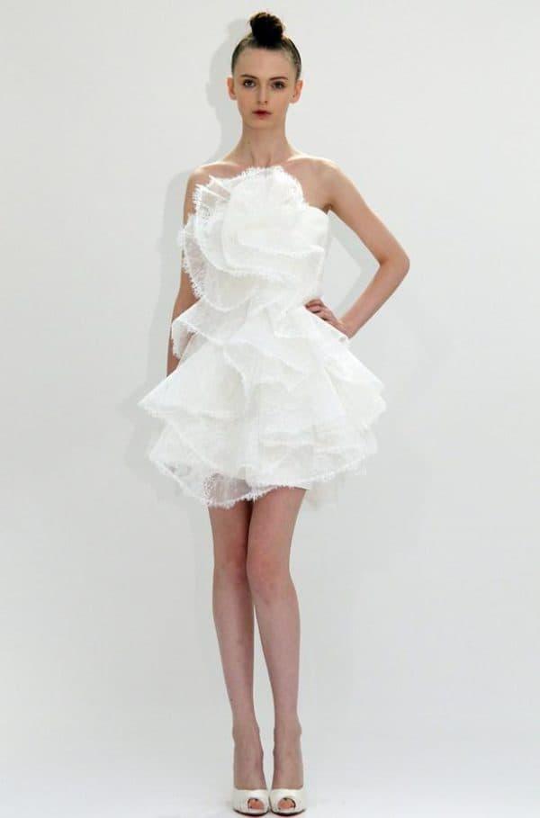 необычное платье в стиле ампир