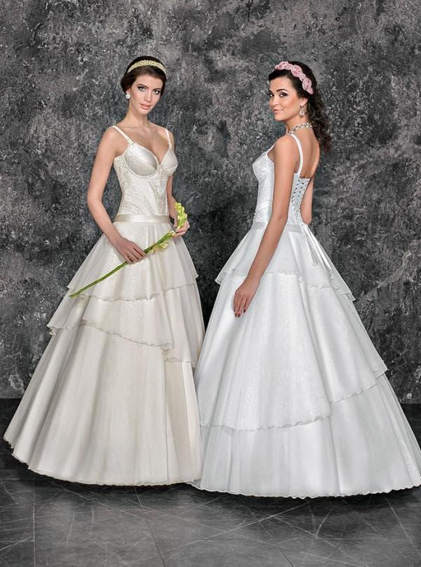 Два свадебных образа с баской