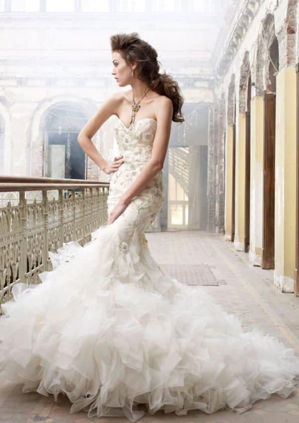 Платье русалочка для невесты