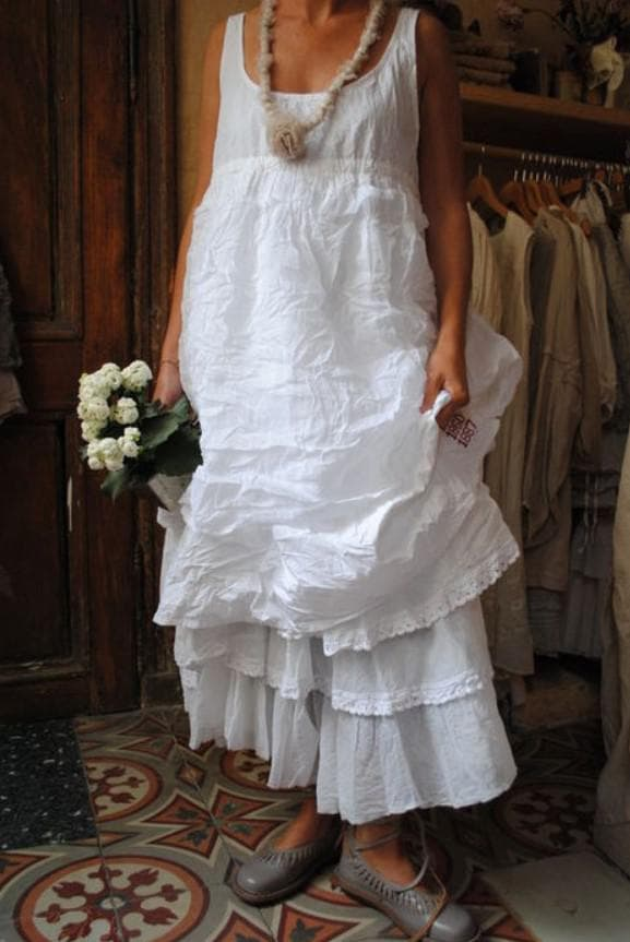 платье невесты бохо