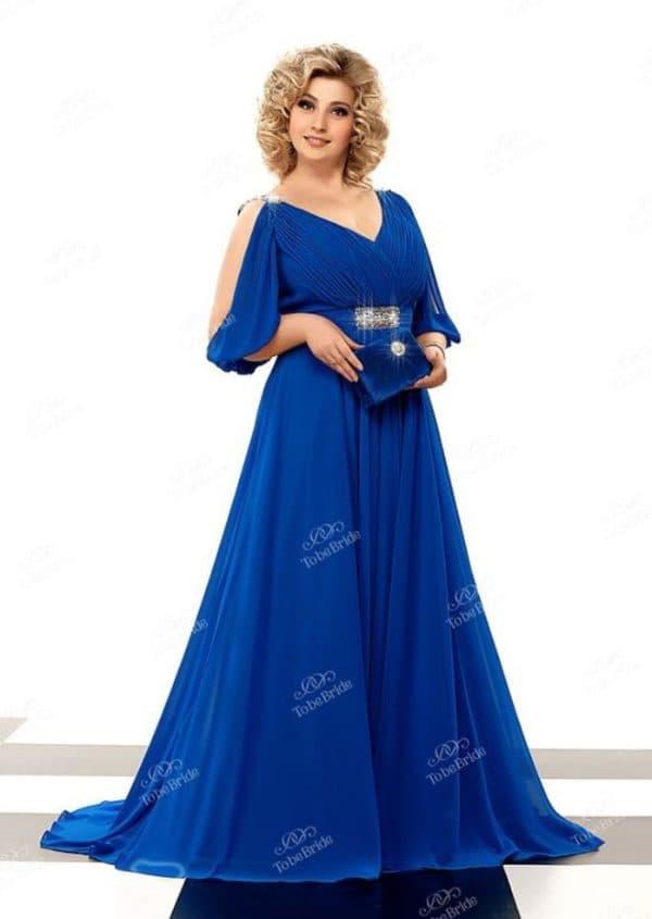 платье-трапеция для полной женщины