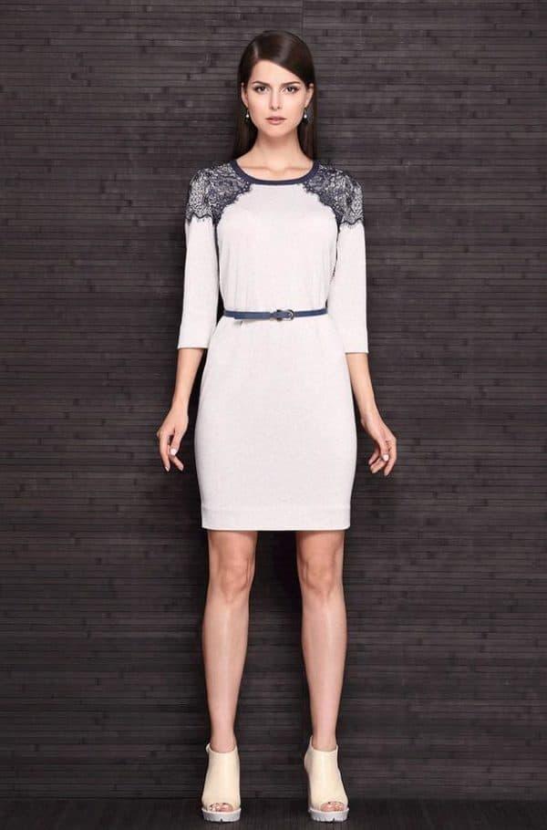 платье миди белорусского бренда