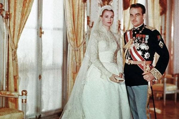 свадебное платье актрисы и принцессы Грейс Келли