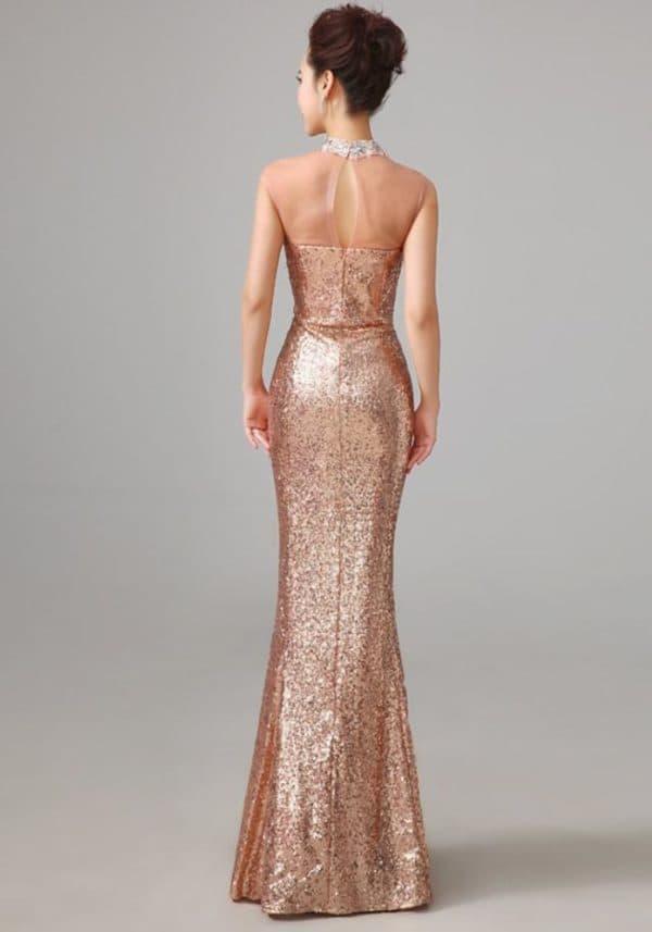 длинное нарядное платье русалочка