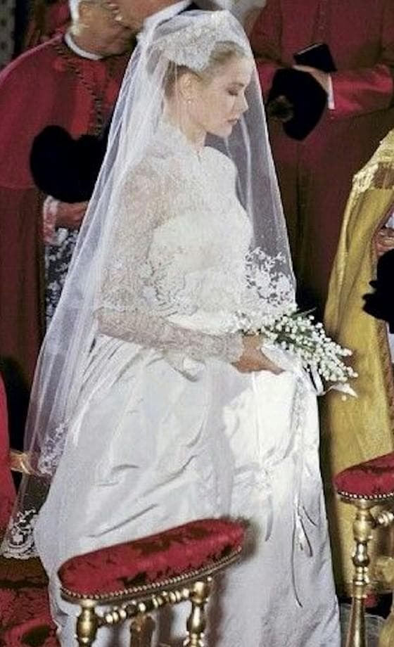 букет невесты Грейс Келли