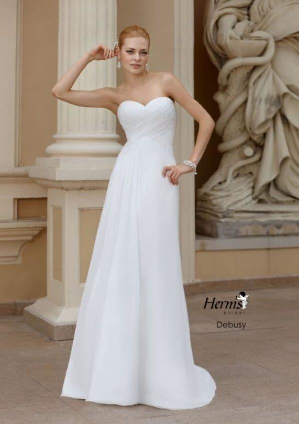 экономичное платье для невесты