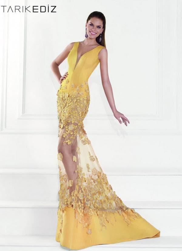 платье русалочка в пол