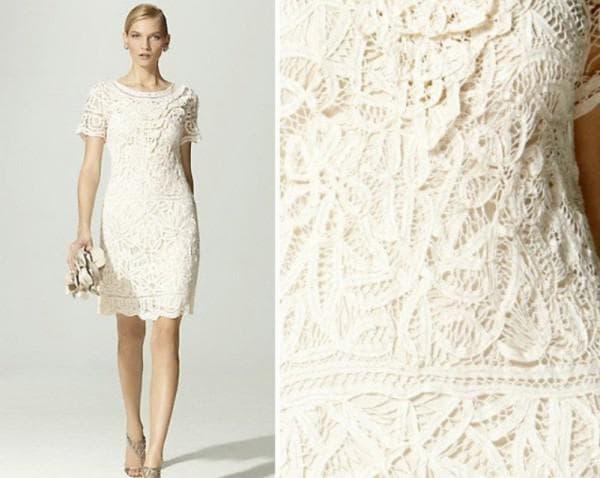 кружевное платье невесты выкройка