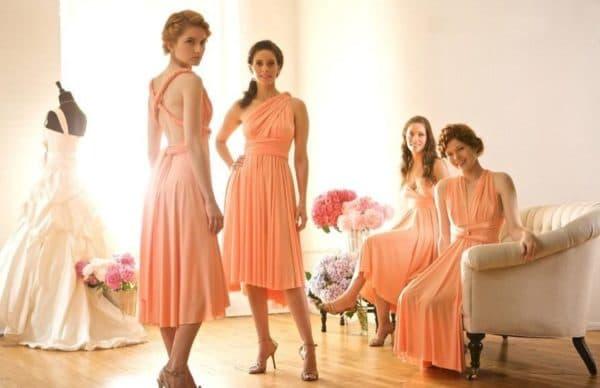 платья для подруг на свадьбе