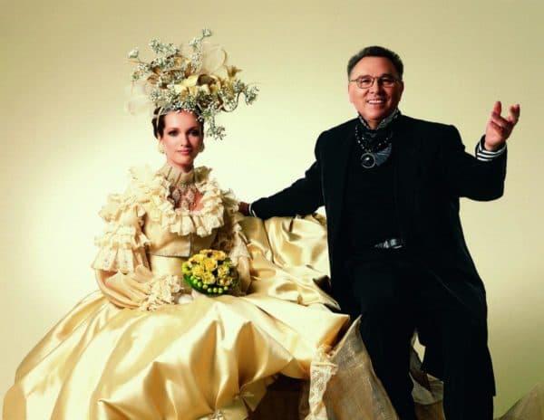 свадебные платья из личной коллекции В. Зайцева