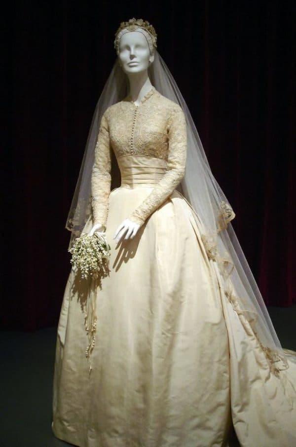 платье Грейс Келли в музее