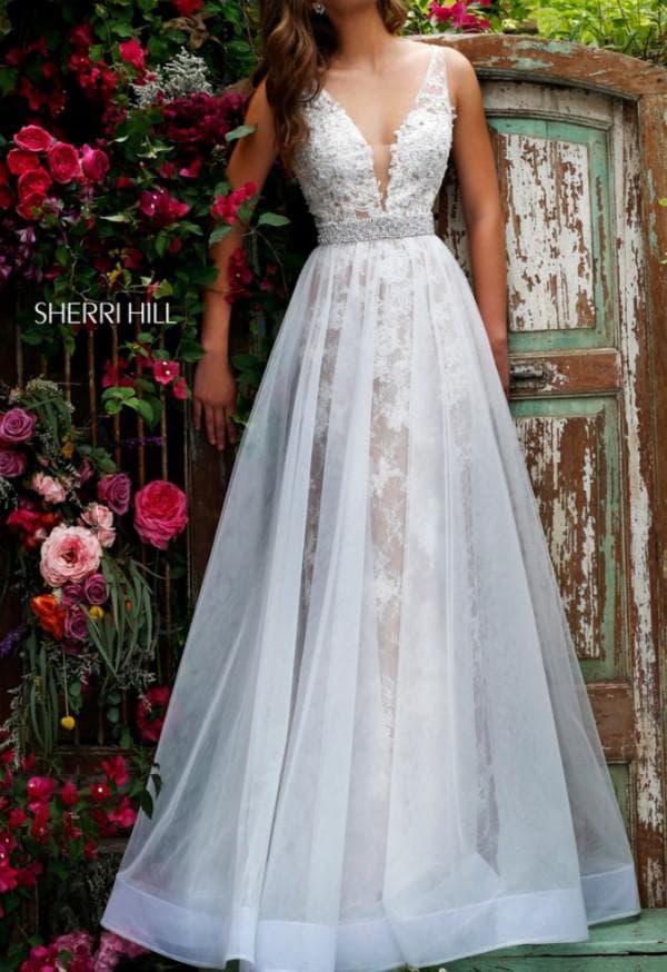 Шикарное свадбеное платье Шерри Хилл
