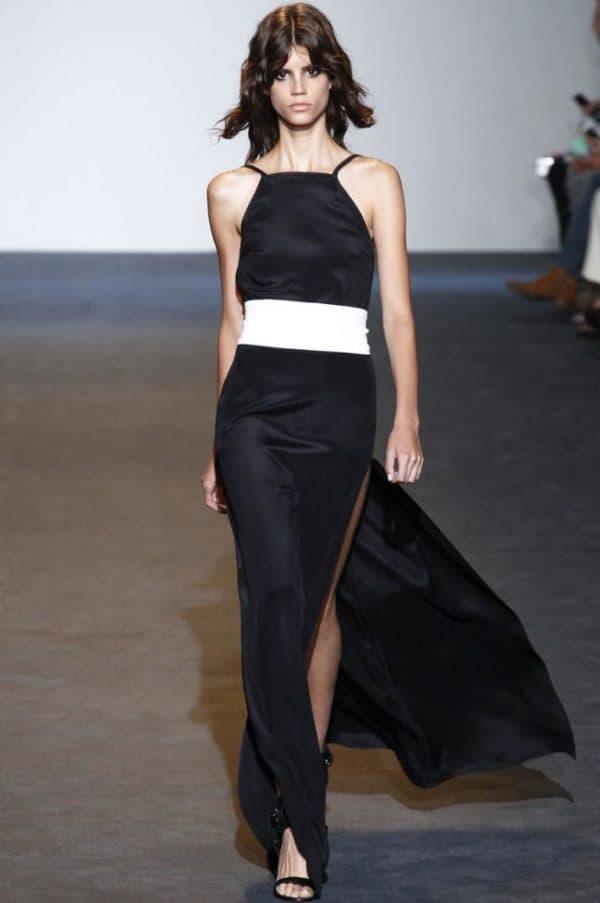 модное нарядное платье