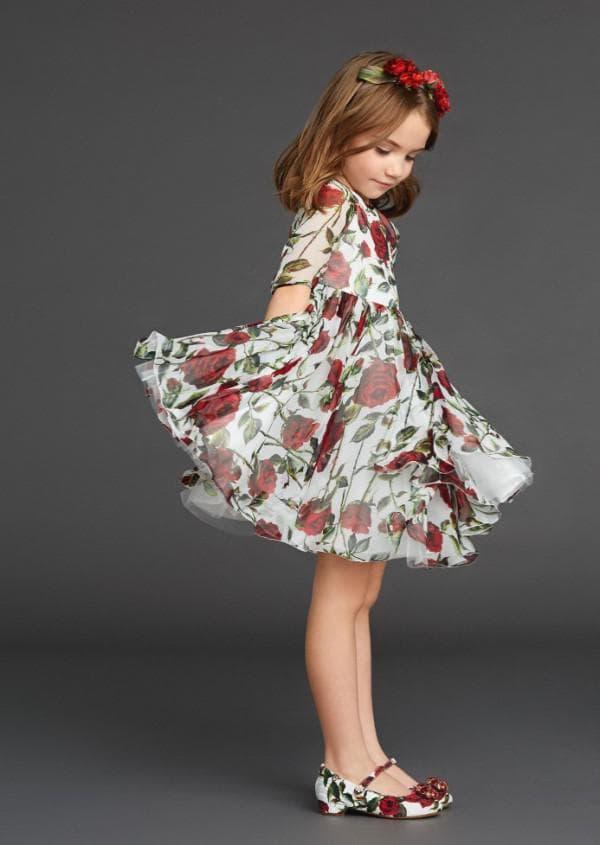 самое красивое детское платье