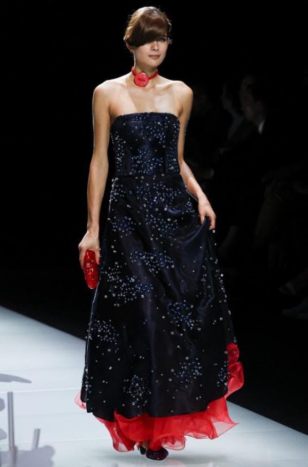 бальное платье от модного бренда