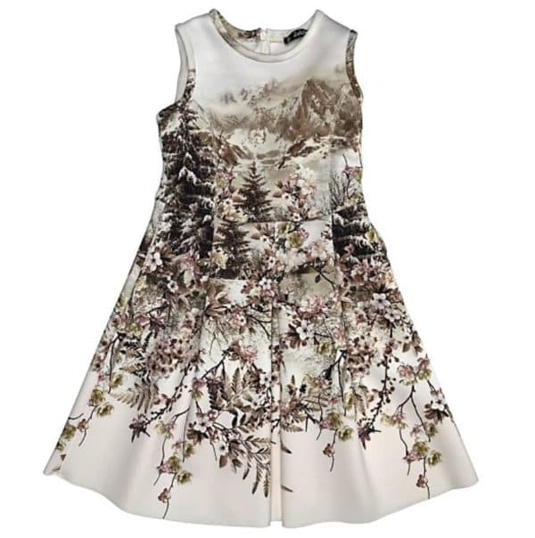 самое красивое платье для девочки
