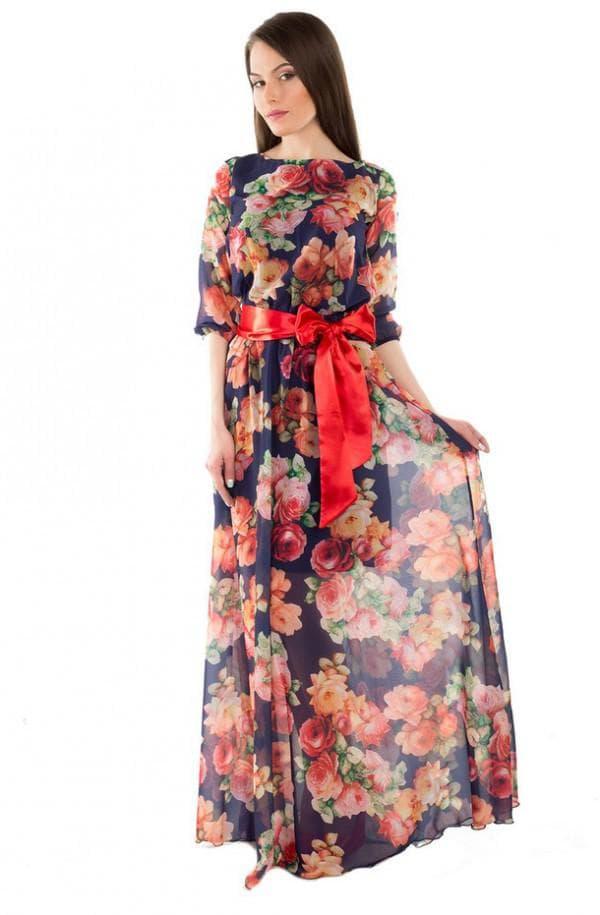 атласный пояс на платье