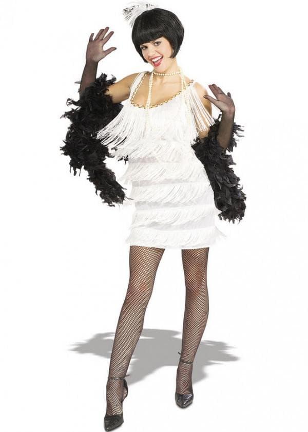 белое платье в стиле гэтсби своими руками