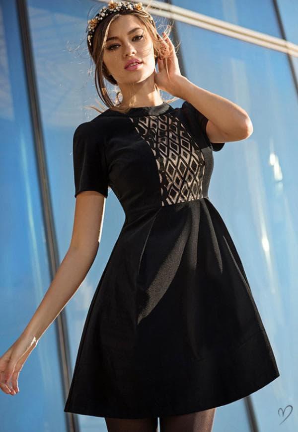 черное платье Лав Репаблик