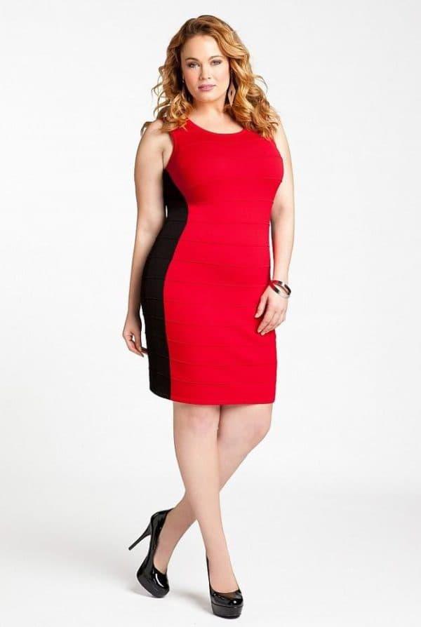красное платье для подруги невесты красного цвета