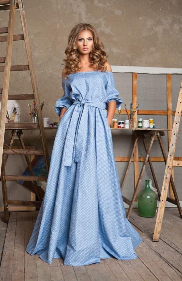 изысканное платье барышня крестьянка