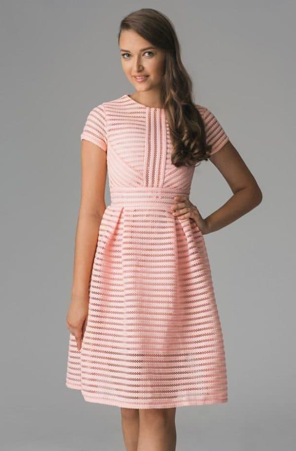 элегантное платье французской длины