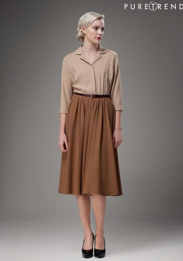 платье для бизнес-леди 40