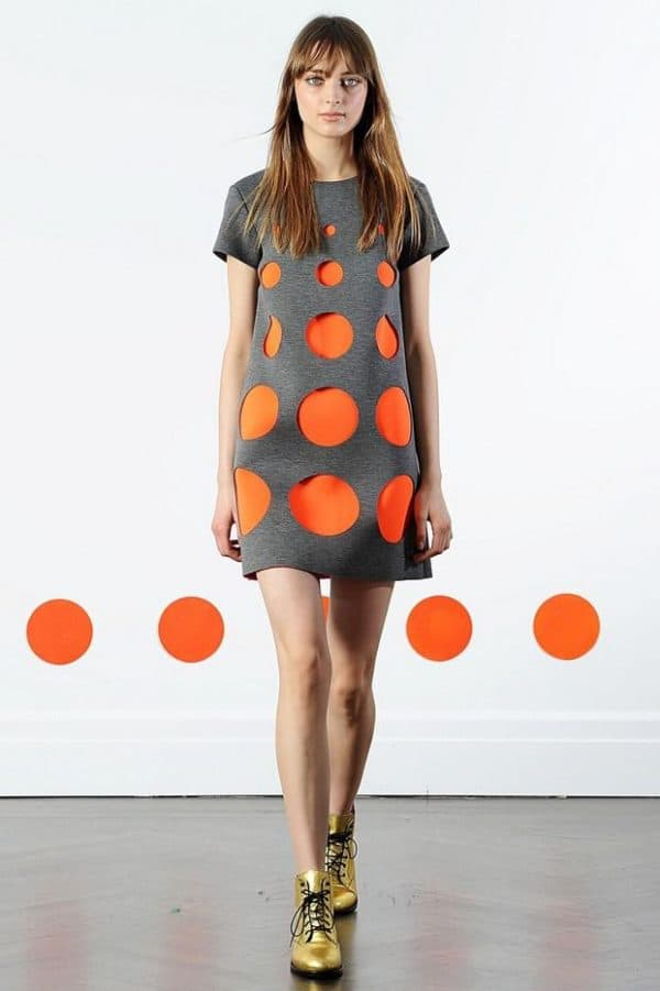 Фасон модного летнего платья для полных