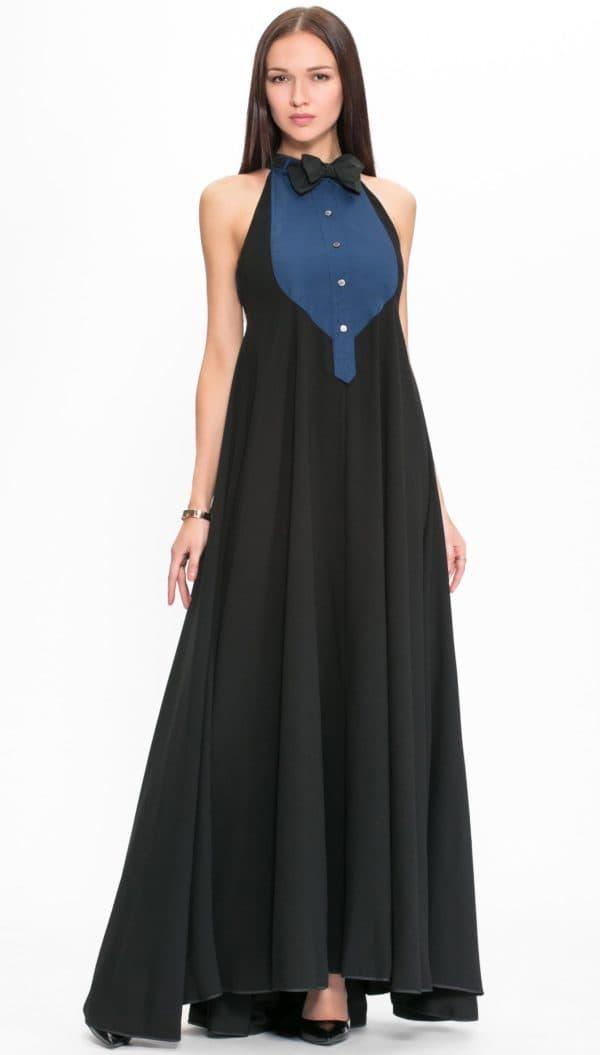 Стильное платье на выпускной
