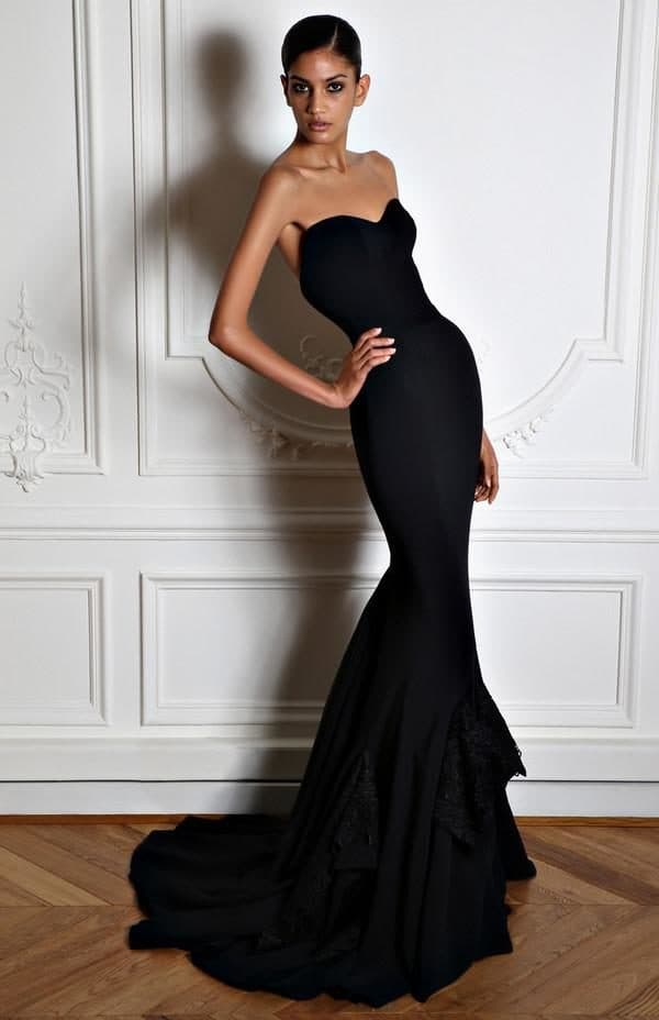 Вечернее платье Зухаир Мурад с открытой спиной