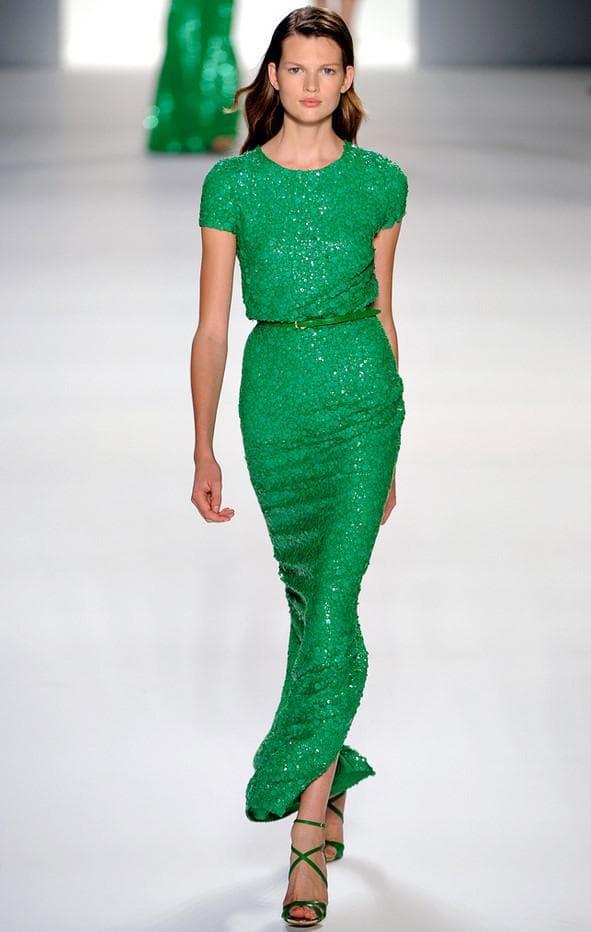 Платье изумрудного цвета на выпускной