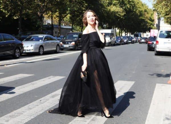 Ульяна Сергеенко в платье