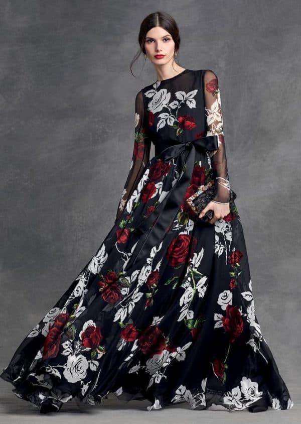 Вечернее платье Дольче Габбана