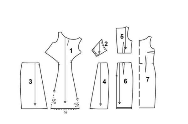Выкройка платья на последний звонок
