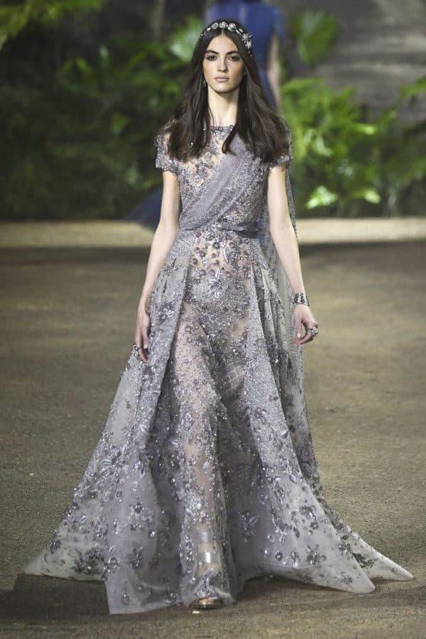 Длинное вечернее платье 2016