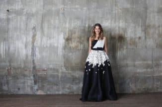 Вечернее платье Киры Пластининой